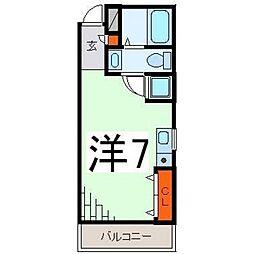 BAAN栄[301号室号室]の間取り