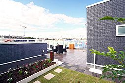 屋上庭園施工例