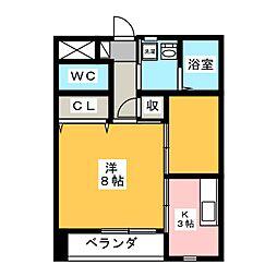 タキオンA[2階]の間取り