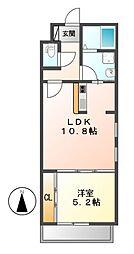 Residence Bojoh(レジデンスボジョー)[2階]の間取り