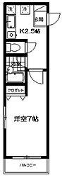 アイレジデンス宮原[1階]の間取り