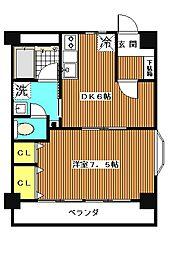 第2ニューハイム西台[2階]の間取り