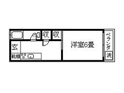 二中通駅 2.5万円