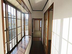 2階南側の廊下...