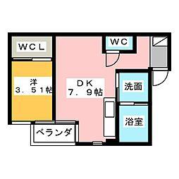 CUORE[2階]の間取り