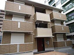 大阪府大阪市東住吉区北田辺4丁目の賃貸アパートの外観