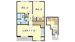 レジデンス東蒲田[2階]の間取り