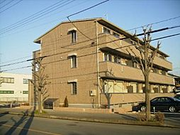 埼玉県深谷市上柴町西1丁目の賃貸アパートの外観
