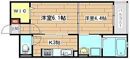 新築ルミナスハート[1階]の間取り