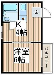 川口ザ・レジデンス[2階]の間取り