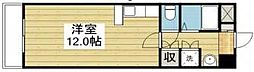愛媛県松山市市坪北2丁目の賃貸マンションの間取り