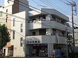 東京都足立区六木1丁目の賃貸マンションの外観