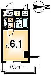 ライオンズマンション京都三条第2[5階]の間取り