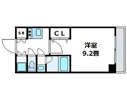 神奈川県横浜市南区白金町2丁目の賃貸マンションの間取り