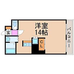 愛知県名古屋市昭和区天神町3丁目の賃貸マンションの間取り