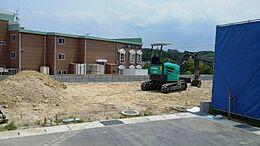 3号棟現地写真です。10月下旬~11月上旬完成予定です。