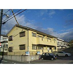 愛知県名古屋市名東区極楽4丁目の賃貸アパートの外観