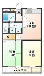 ファミールオザキ[3階]の間取り