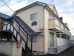 東京都立川市富士見町4丁目の賃貸アパートの外観
