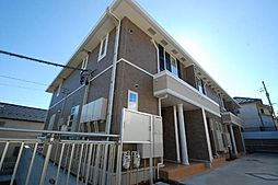 愛知県名古屋市名東区西里町3丁目の賃貸アパートの外観