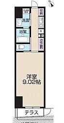 レピュア王子本町[1階]の間取り