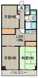 シャネレードM・K[2階]の間取り