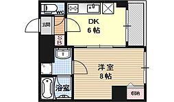 AFICION堀川[509号室号室]の間取り