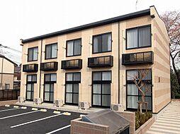 埼玉県さいたま市岩槻区日の出町の賃貸アパートの外観