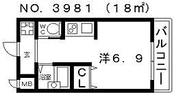シエテ矢田[305号室号室]の間取り
