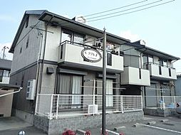 兵庫県姫路市飾磨区今在家の賃貸アパートの外観