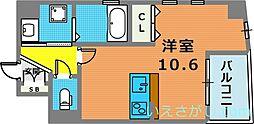 フォレストコート西元町[4階]の間取り