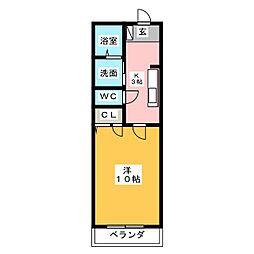 RESIDENCE本郷[2階]の間取り