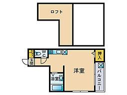 コーポ和幸[2階]の間取り