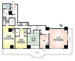 須磨パークヒルズC棟 26階部分