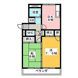 ビューラー長崎[1階]の間取り