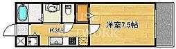 エミネンス西京極[201号室号室]の間取り
