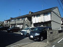 愛媛県松山市小坂2丁目の賃貸アパートの外観