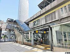 汐留駅(現地まで160m)
