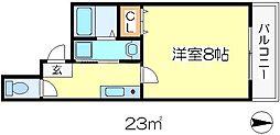 シャルル中宮[3階]の間取り