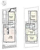 建物参考プラン?:間取り/3LDK、延床面積/102.16?、土地建物参考価格/8780万円(税込)\n