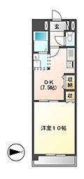 Grance Kotobuki(グランセコトブキ)[10階]の間取り
