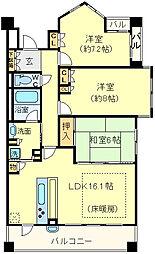 アービング千里桃山台[6階]の間取り