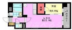 デザイナープリンセス中津口[11階]の間取り