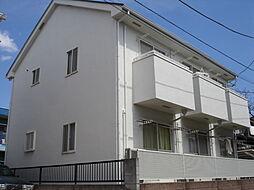 東京都府中市多磨町1丁目の賃貸アパートの外観