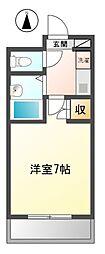 ロイヤルコート武蔵境[3階]の間取り