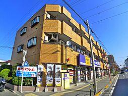 東京都足立区谷在家1丁目の賃貸マンションの外観