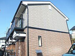 愛知県岡崎市真伝町字供養坊の賃貸アパートの外観