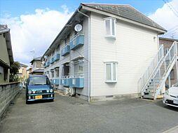 長谷川ハイツ[202号室]の外観