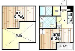 Rumah KL(ルマケーエル)[101号室]の間取り