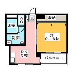 新宿マンション[2階]の間取り